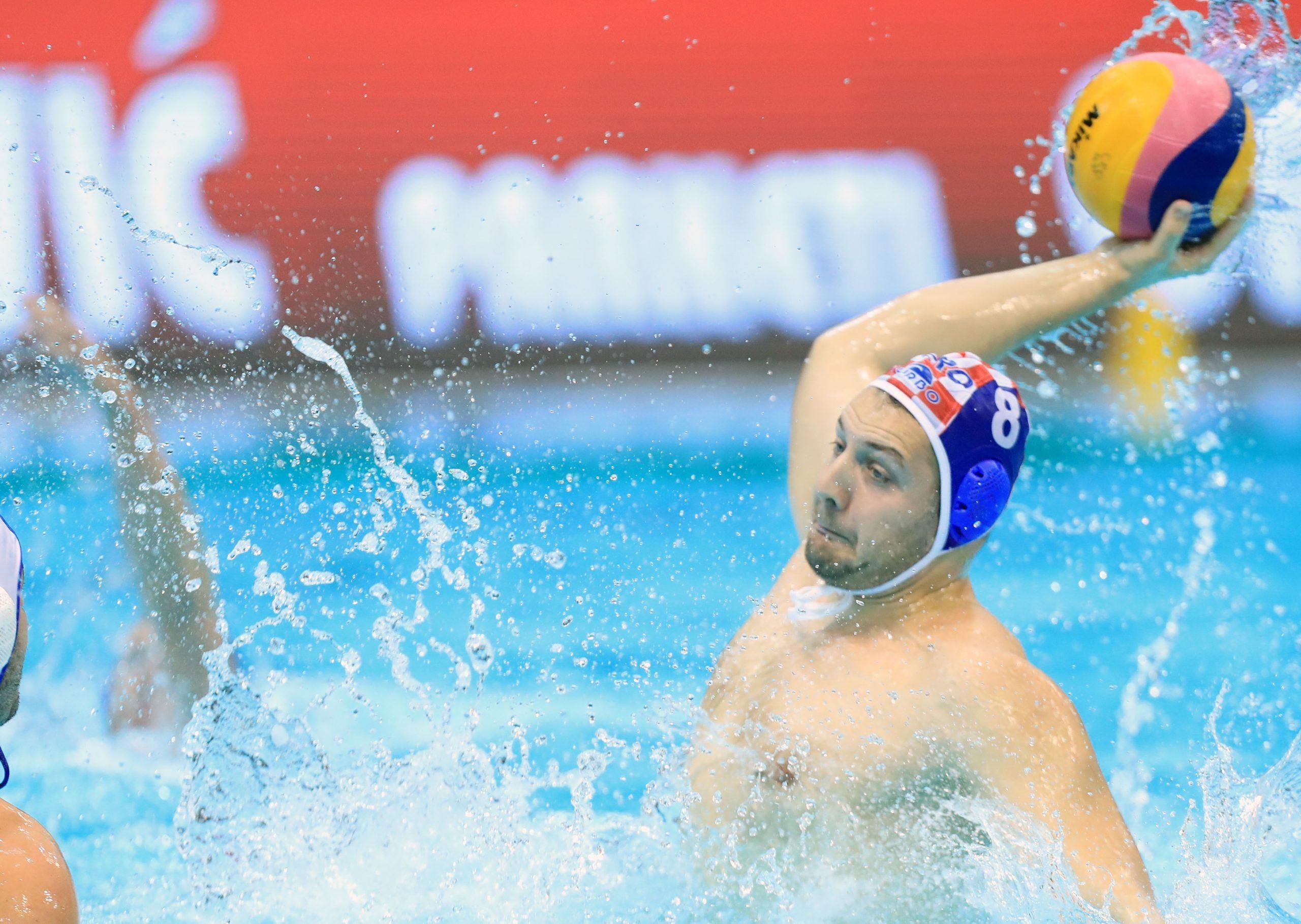 Andro Bušlje, kapetan Hrvatske/Foto PIXSELL