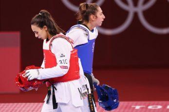 Anastasija Zolotic i Nada Laaraj/Foto REUTERS