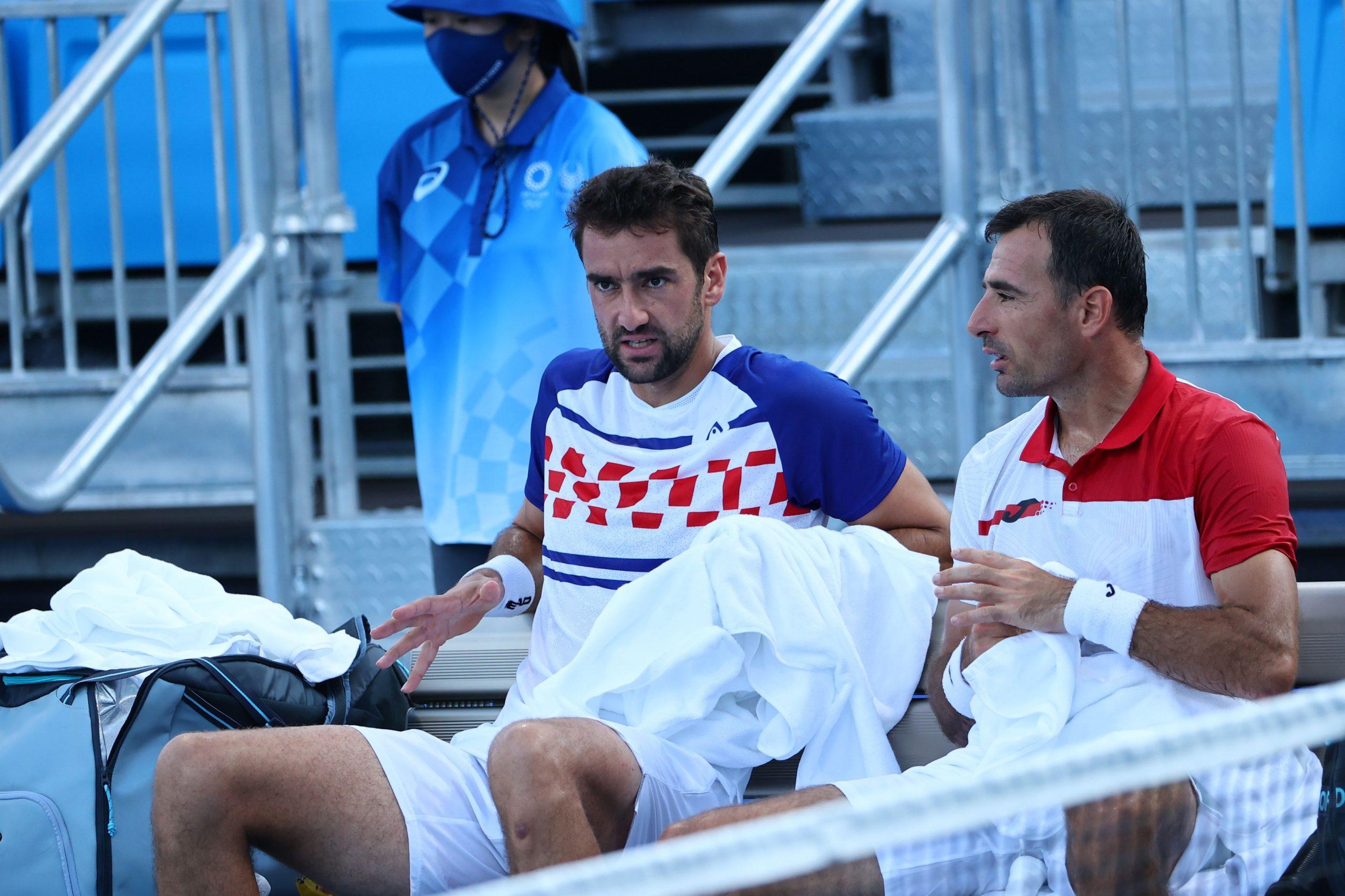 Marin Čilić i Ivan Dodig/Foto REUTERS