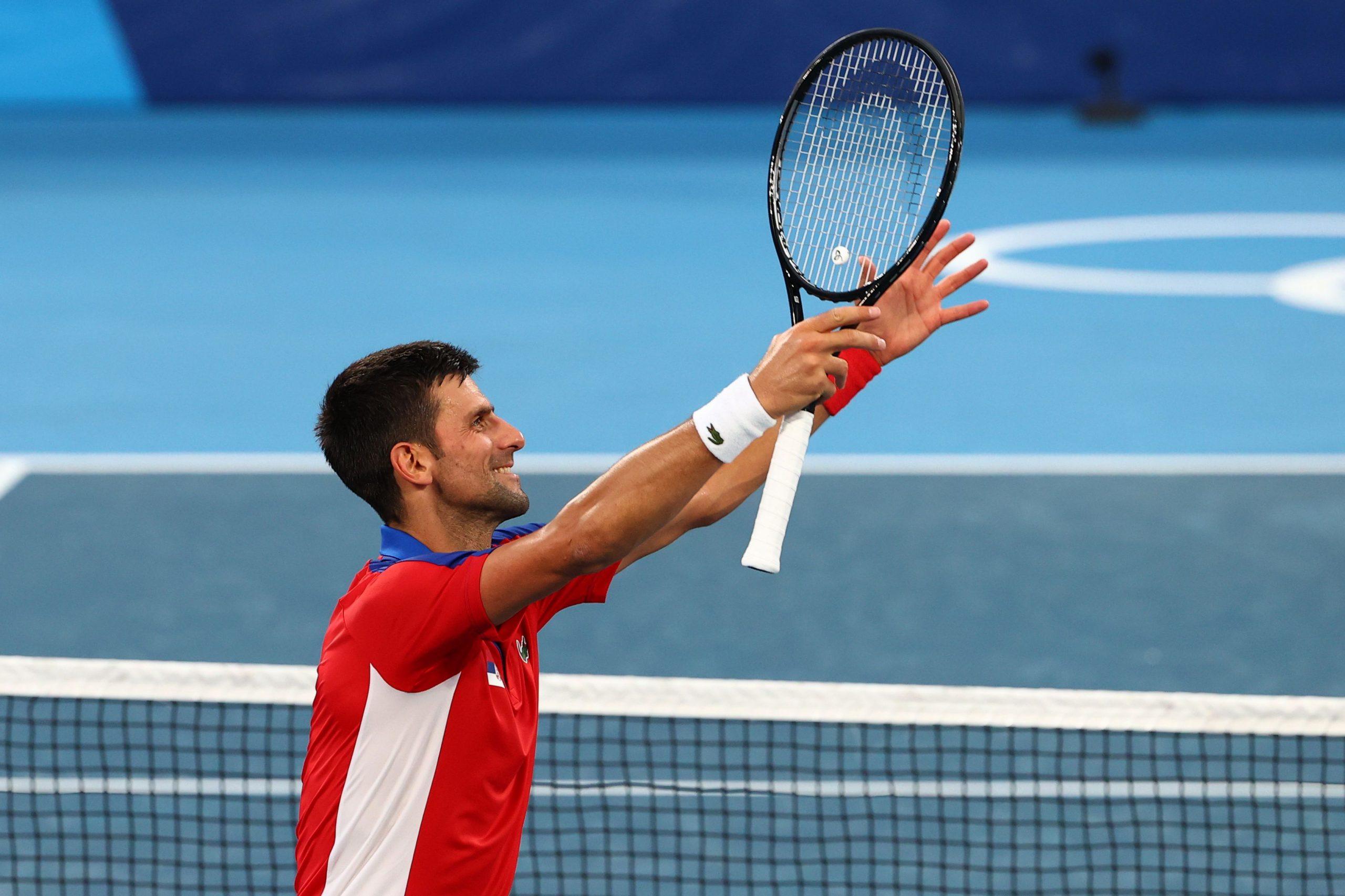 Novak Đoković prvi je ukazao na veliki problem s vrućinom/Foto REUTERS