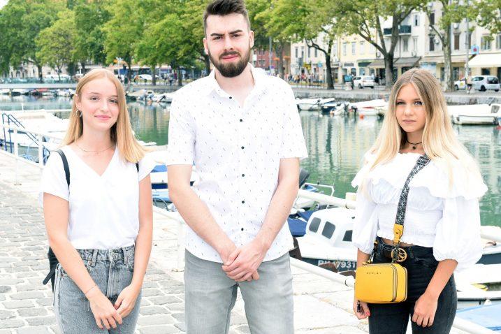 Hana Šlipogor, Andrej Božić i Ana Liza Martinović / Foto Marko Gracin