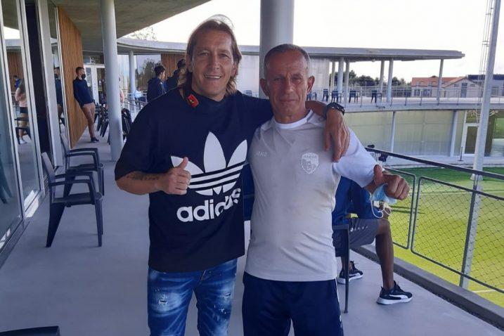Michel Salgado i Rustem Gashi