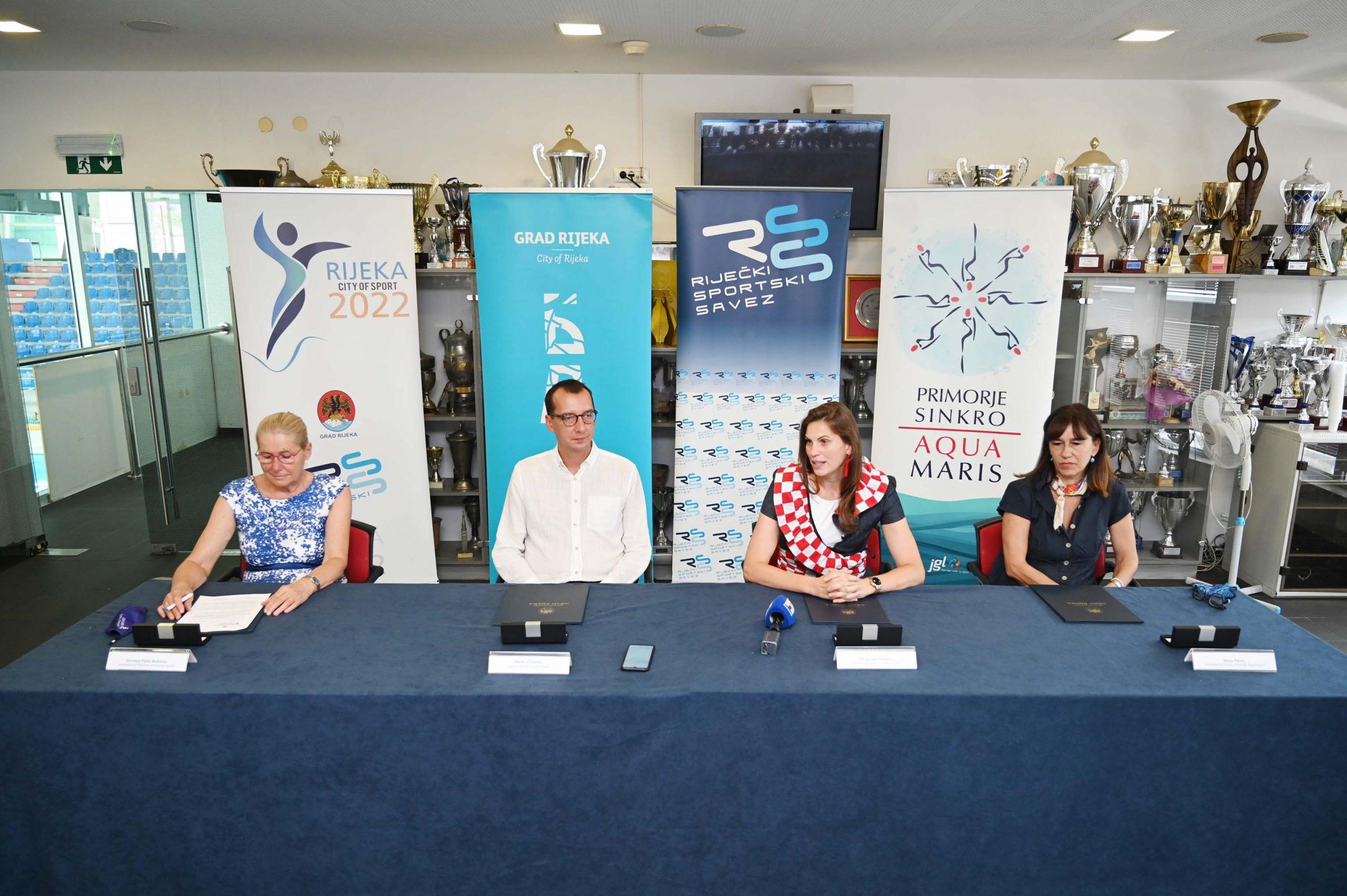 Dorotea Pešić Bukovac, Marko Filipović, Margareta Puškarić i Sanja Pavić/Foto M. LEVAK