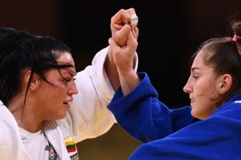 Sanda Jablonskyte i Ivana Maranić/Foto REUTERS