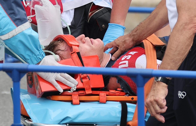 Connor Fields završio je u bolnici/Foto REUTERS