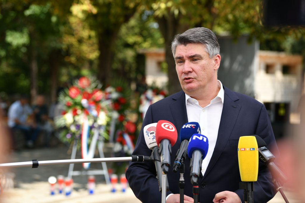 Zoran Milanović / Foto Ured predsjednika RH, Dario Andrišek