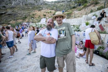 Boris Dežulović i Ante Tomić / Foto: Miroslav Lelas/PIXSELL