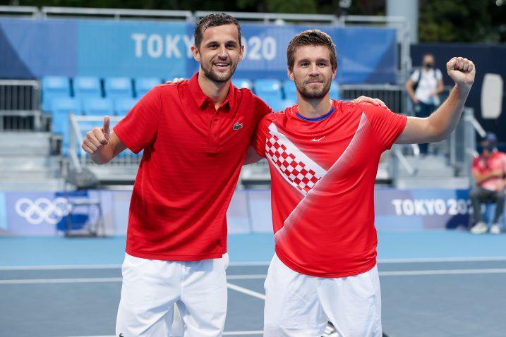 Mate Pavić i Nikola Mektić/Foto PIXSELL