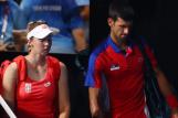 Nina Stojanović i Novak Đoković/Foto REUTERS