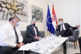 Tonči Tadić i David Smith na sastanku s premijerom Andrejom Plenkovićem