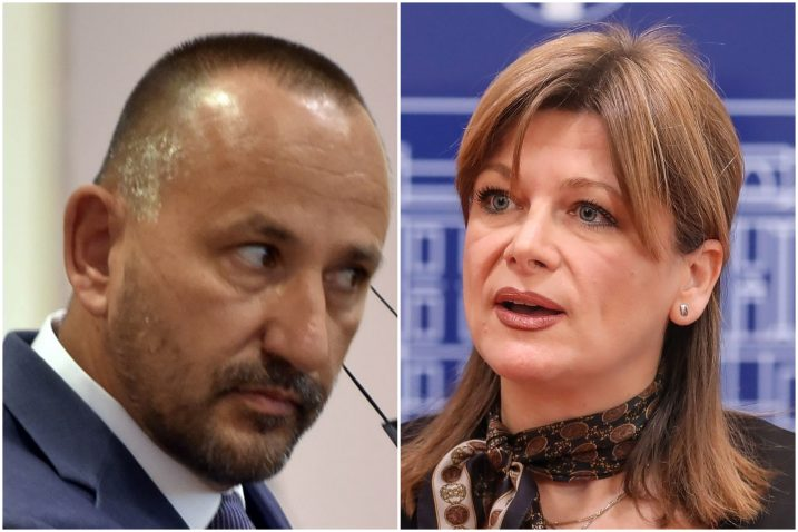 Hrvoje Zekanović i Karolina Vidović Krišto / Foto arhiva NL, Pixsell
