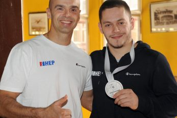 Lucijen Krce i Tin Srbić
