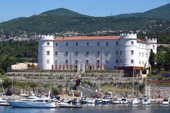 Gradnja dvorca Nova Kraljevica započela je 1651. godine na samom ulazu u Bakarski zaljev / Foto Vedran Karuza