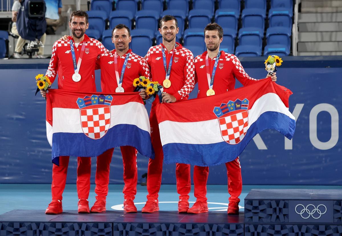 Hrvatski tenisači donijeli su Hrvatskoj zlato i srebro u parovima/Foto PIXSELL