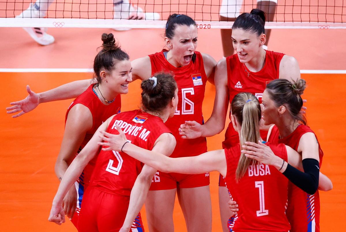 Odbojkašice Srbije/Foto: REUTERS