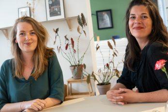 Marleen van Bergeijk i Lisa Hardon