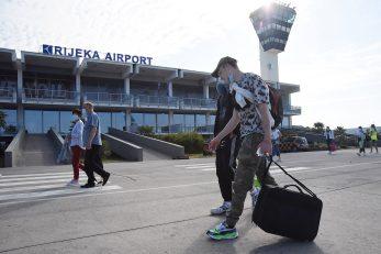 : Unatoč velikom broju letova, Zračna Rijeka će godinu završiti s četvrtinom putničkog prometa iz rekordne 2019. / Snimio Sergej DRECHSLER