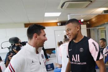Lionel Messi i Kylian Mbappe/Foto Instagram