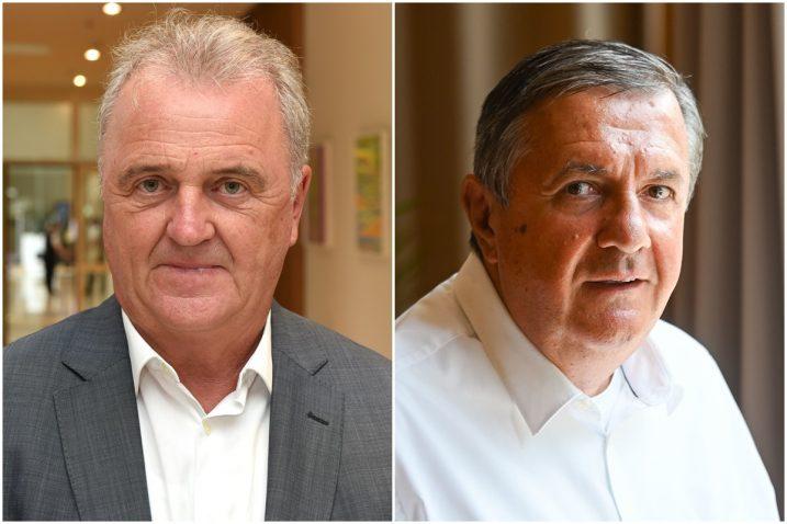 Veljko Ostojić, Selimir Ognjenović / Foto: Novi list