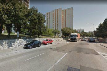 Ulica Zdravka Kučića / Foto Screenshot Google Maps