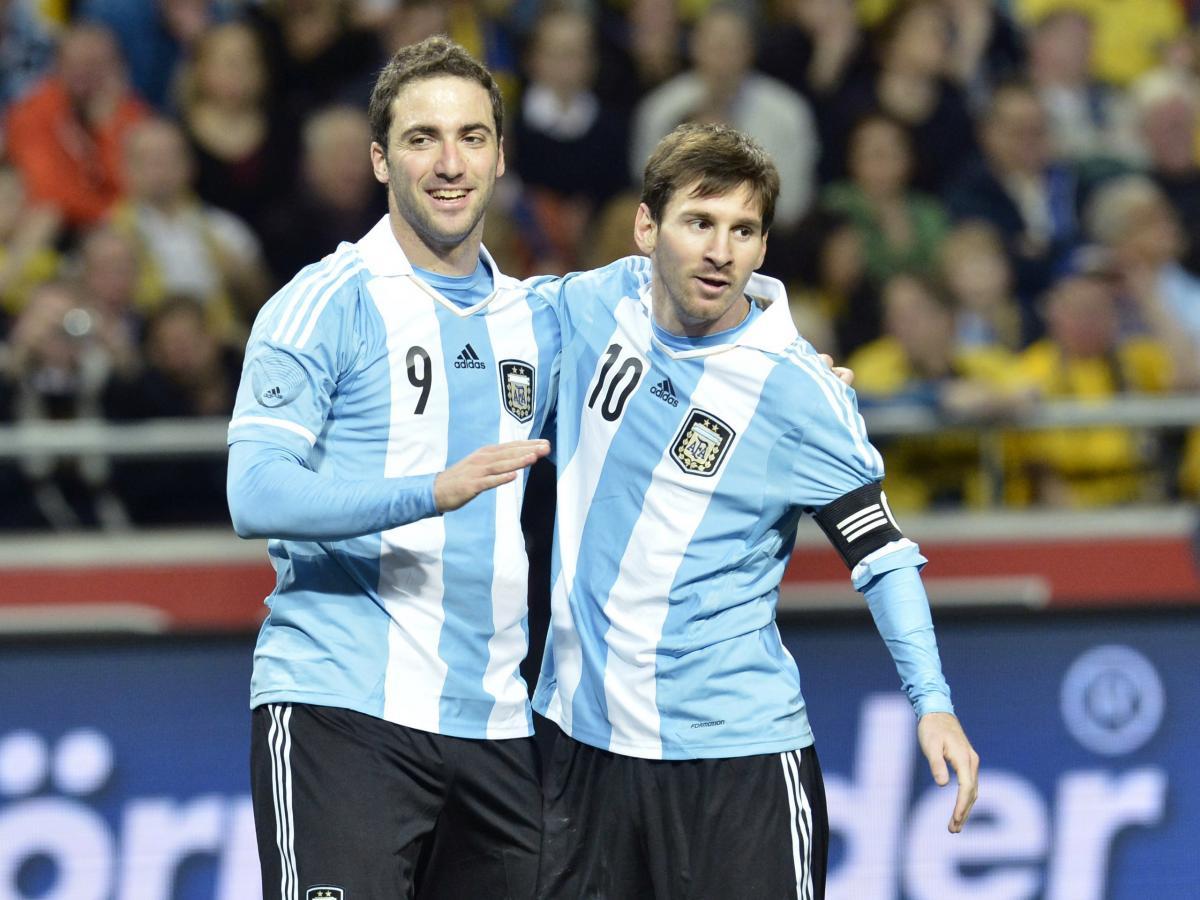 Gonzalo Higuain i Leo Messi/Foto: REUTERS
