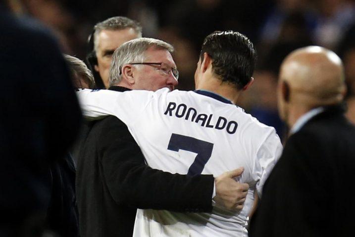 Sir Alex Ferguson i Cristiano Ronaldo/Foto: REUTERS