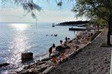 Bablje ljeto u Novom Vinodolskom: novljanska `kupalnica` u subotu oko 17:30 sati / Snimila: J. DERANJA