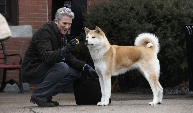 "Foto: YT Screenshot iz filma ""Hachiko: A Dog's Tale"