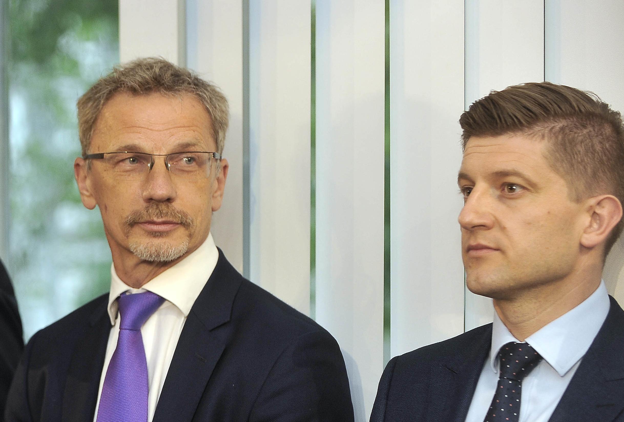 Boris Vujčić i Zdravko Marić / Foto Davor Kovačevčić