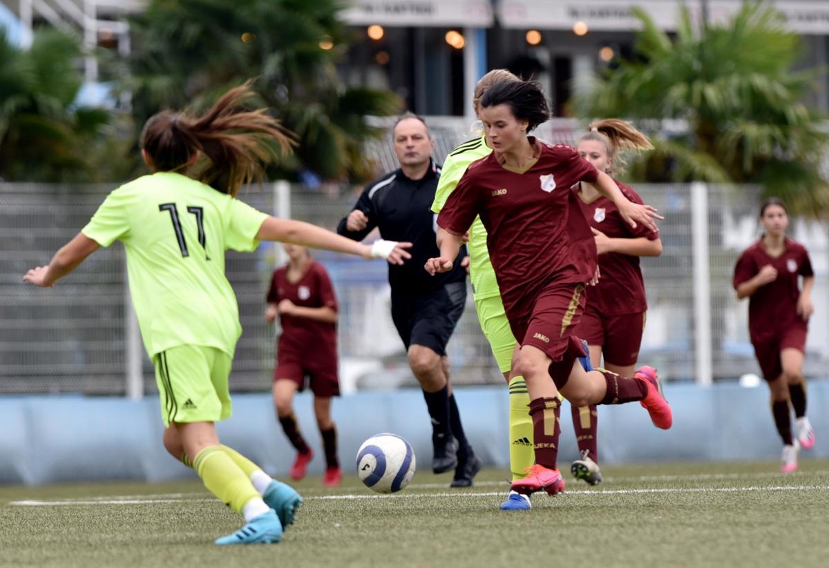 Detalj s utakmice kadetkinja Rijeke i Dinama/Foto Arhiva NL