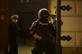Ilustracija austrijske policije / Foto Reuters