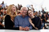 Redatelj Paul Verhoeven s glumicama iz filma, Foto: Reuters