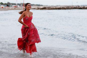 Glumica Serena Rossi, voditeljica otvaranja ceremonije, Foto: REUTERS