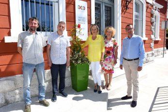 Društveni centar Drenova: Igor Bajok, Damir Medved ,Davorka Medved, Vesna Lukanović i Marko Filipović / Foto Marko Gracin