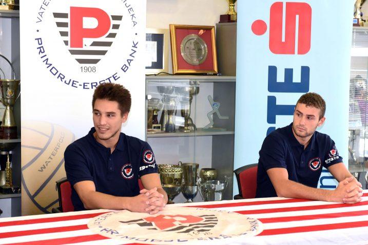 Borna Duvnjak Starčević i Fabio Crippa/Foto: V. KARUZA