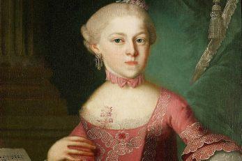 Maria Anna Mozart 1763. godine / Foto Wikipedia