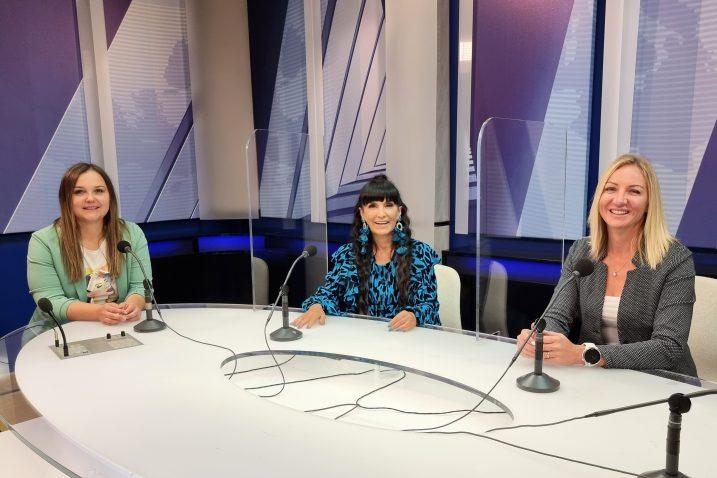 Lana Frančić, Matija Vuica i Tea Rožman Svedrović / Foto HRT