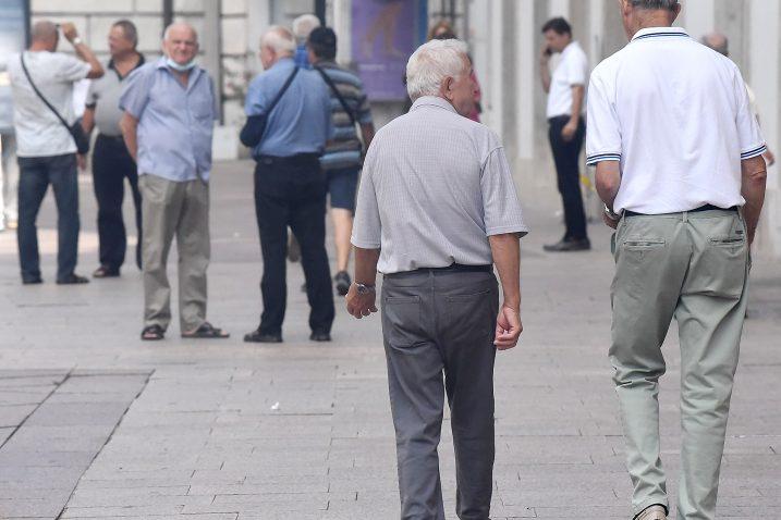 Iz riječke Matice umirovljenika umirovljenicima stigla umirujuća poruka / Foto S. DRECHSLER
