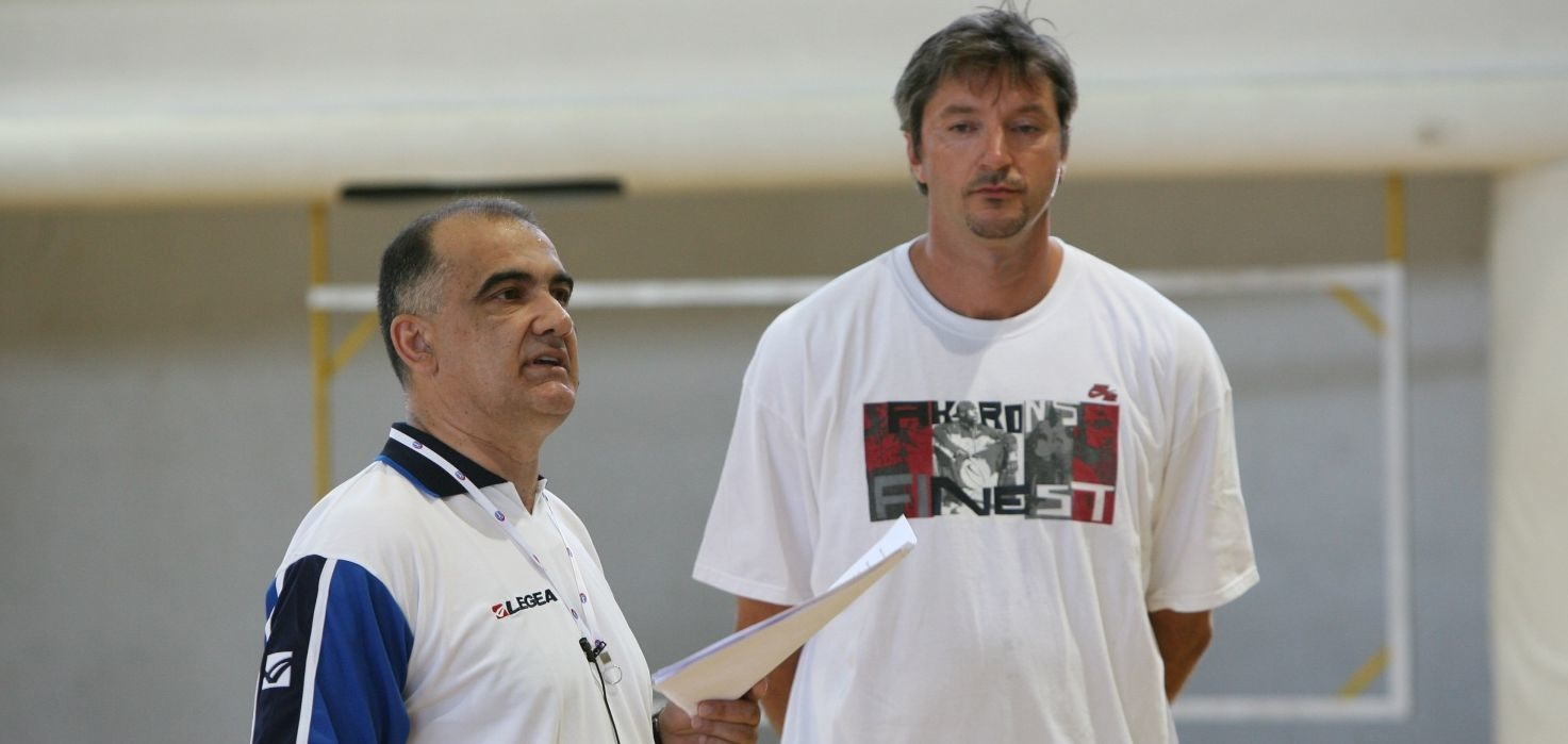 Slavko Trninić i Toni Kukoč/Foto Privatna arhiva