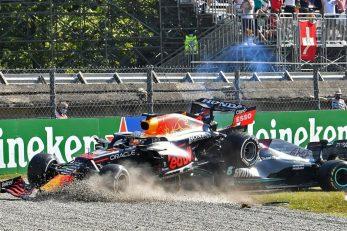 Sudar Hamilton i Verstappena/Foto REUTERS