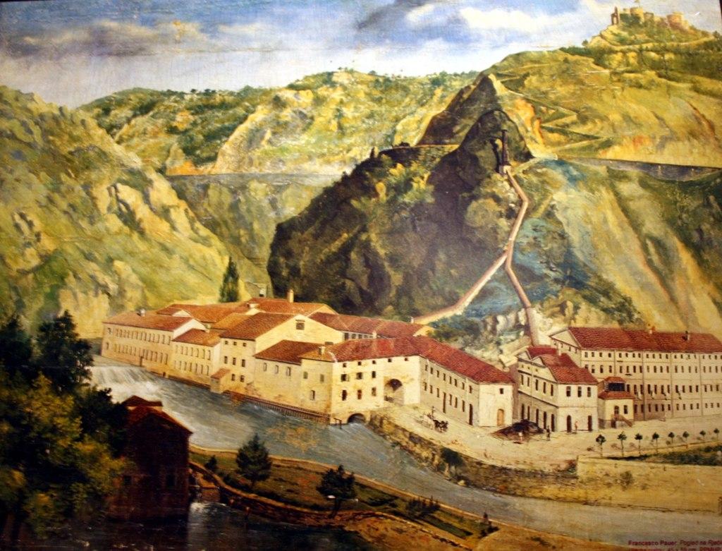 Tvornica papira oko 1880. godine, Foto: MGR/WIKIPEDIA