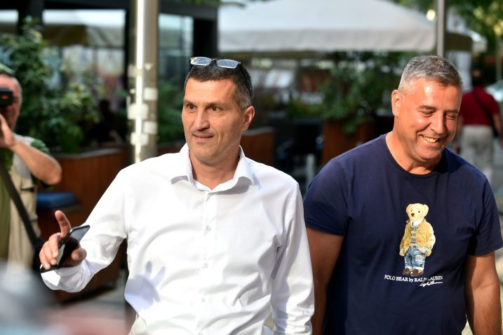 Nikša Vukas i Franko Vidović / Snimio Davor KOVAČEVIĆ