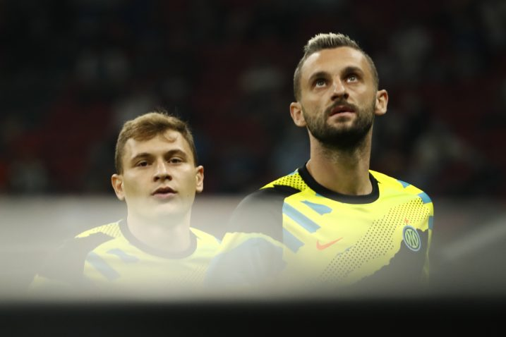 Nicolo Barella i Marcelo Brozović/Foto REUTERS
