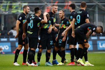 Slavlje nogometaša Intera/Foto: REUTERS