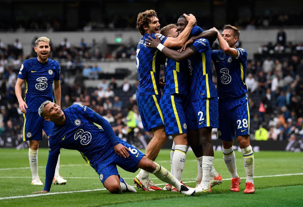Nogometaši Chelseaja/Foto REUTERS