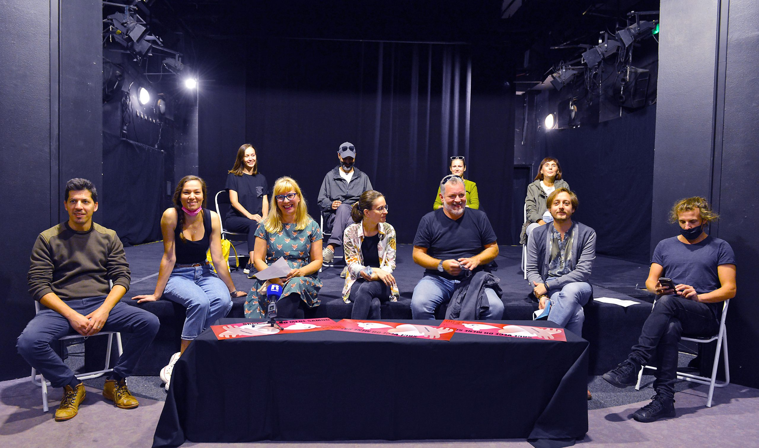 Glumačka i autorska ekipa predstave, Foto: Vedran Karuza