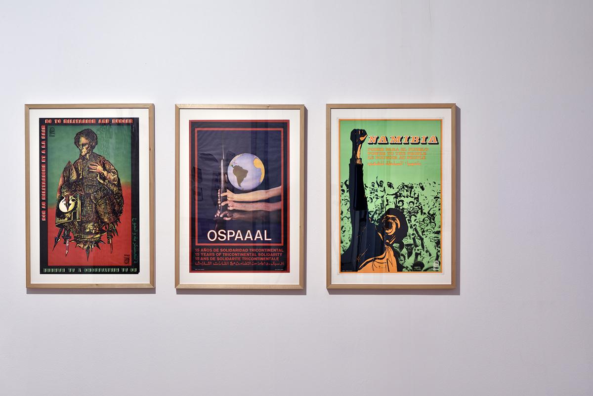 OSPAAAL plakati, 1980-e