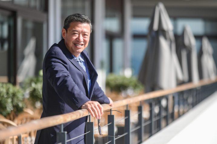 Kineski liječnik dr. Zilin Wang u hotelu Admiral u Opatiji / Foto M. LEVAK