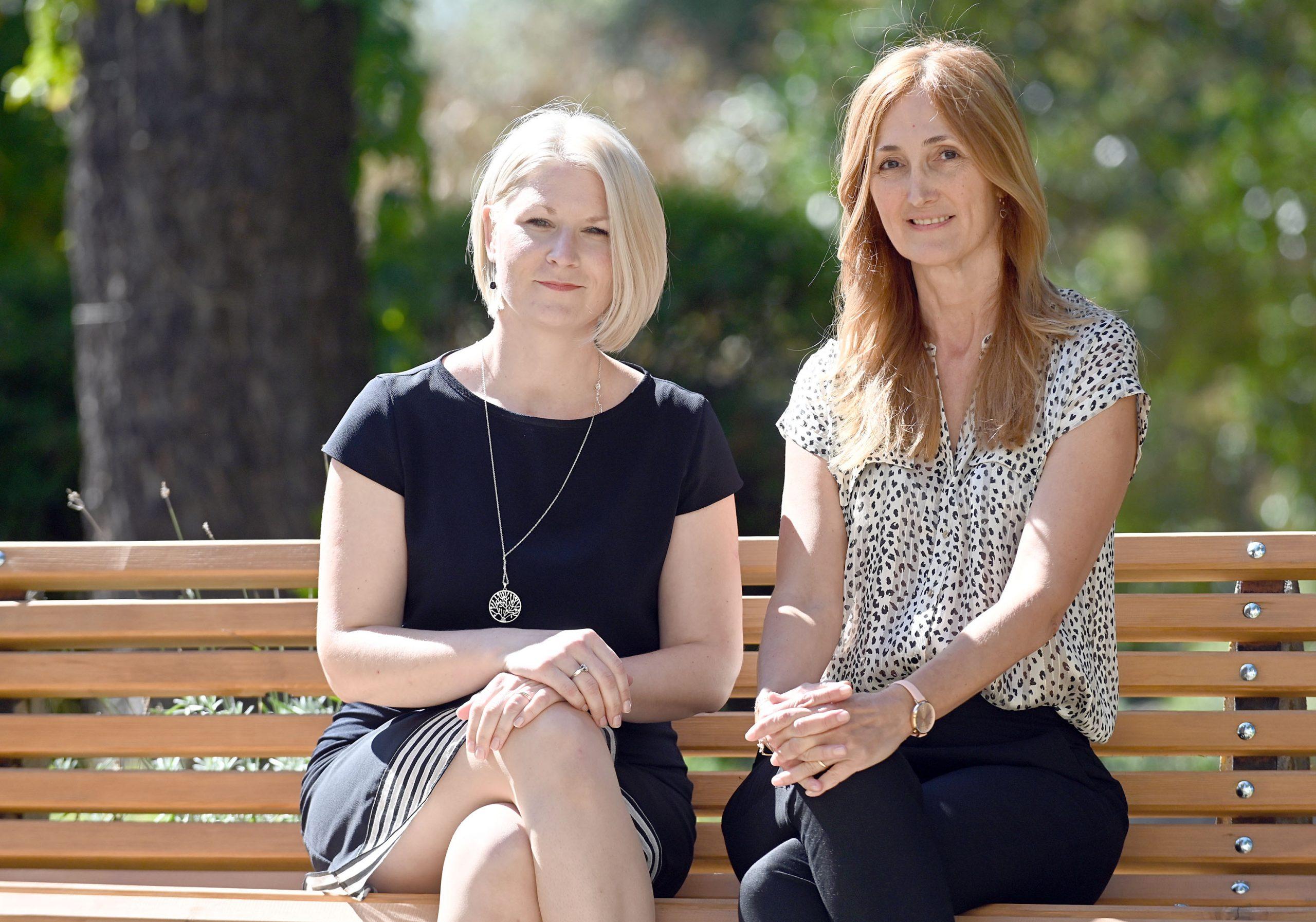 Mirna Petković Didović i Olga Cvijanović Peloza / Foto Vedran Karuza