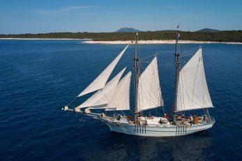 Drveni brod Nerezinac je vrijedan primjerak tradicionalne brodogradnje / SANDRO TARIBA